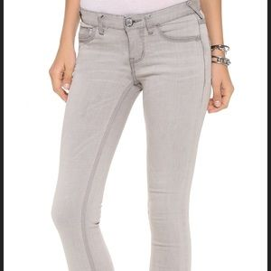 Free People light lilac skinny jeans 25